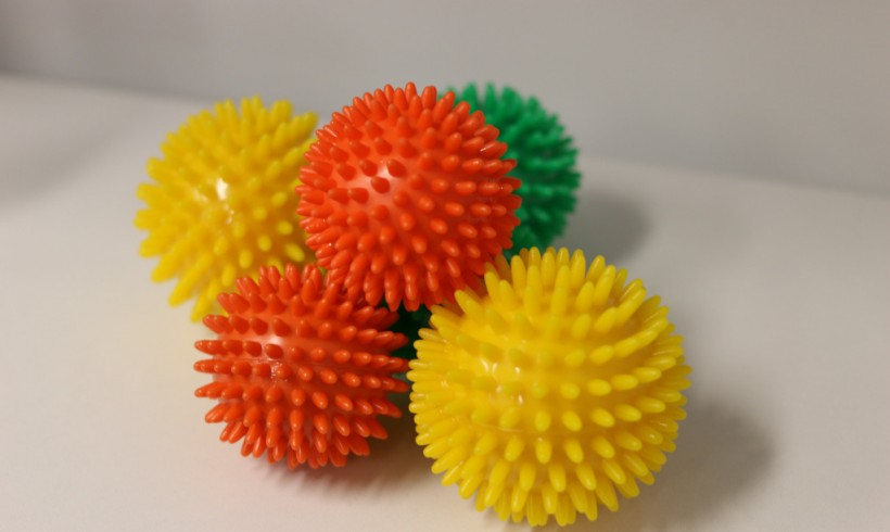 Get to the Point – Use of the Spikey Ball with Muscle Pain and Tightness